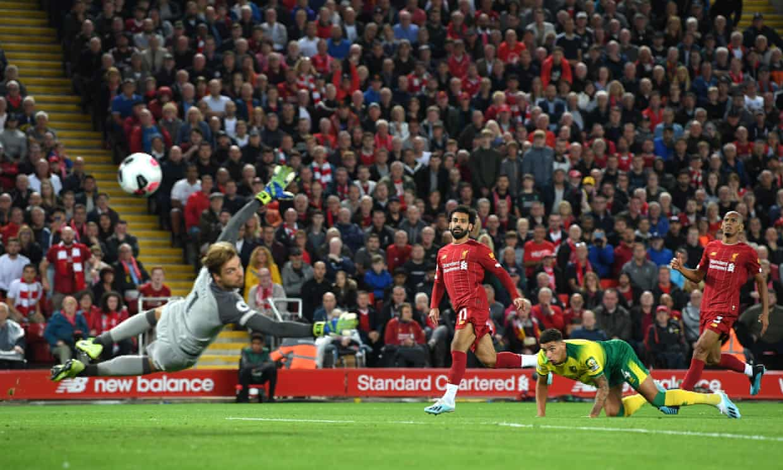 Liverpool - Norwich. Foto: David Blunsden/ Action Plus