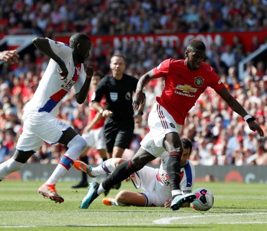 Manchester United - Crystal Palace. Foto: Reuters/Paul Childs