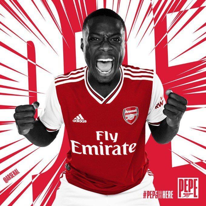 Pepe. Foto: Arsenal