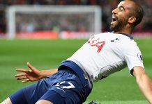 Lucas Moura. Foto: Tottenham